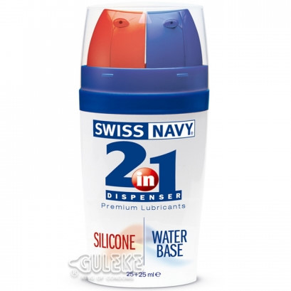 美國Swiss Navy‧二合一潤滑液#051404