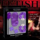 美國PIPEDREAM.Fetish Fantasy系列-SM五件組禮盒 Purple Passion Kit