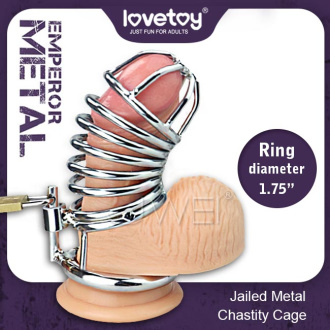 Lovetoy.EMPEROR METAL Jailed 1.75 男用貞操鳥籠套