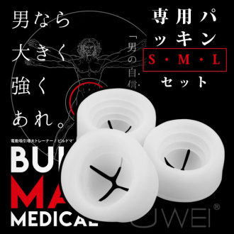 日本NPG‧BIILD MAN MEDICAL 専用替換 S・M・L 高級矽膠套
